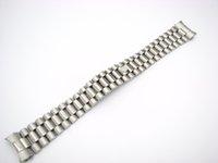 bracelet fin pour les montres achat en gros de-CARLYWET 20mm En Gros Solide Curved End Vis Liens De Déploiement Fermoir En Acier Inoxydable Montre-Bracelet Bande Bracelet Bracelet