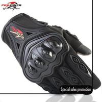 мотоциклетные байкерские перчатки оптовых-Спорт на открытом воздухе Pro Байкер Мотоциклетные перчатки Полный палец Мото Мотоцикл Мотокросс Защитное снаряжение Guantes Racing Glove