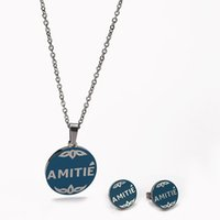 Wholesale Cute Friendship Gifts - 2017 Stainless Steel Bear Jewelry Set High Quality Hot Selling 4 Colours Silver Plated Classic Style Cute Friendship Love