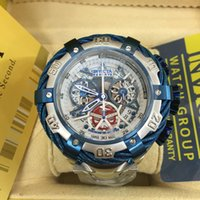 Wholesale Men S Big Watch - 2017 new gold watches to the U. S. he Invictas he car watch big men watch large hollow special edition's waterproof wire
