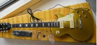 Wholesale Electric Guitar 1956 - Wholesale- Factory custom shop 2015 Newest 1956 goldtop with P90 pickups electric guitar Free Shipping In Stock 726