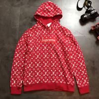 Wholesale Designer Hoodie Women - designer purpose tour hoodies for men women sweatshirt sweats Harajuku streetwear suprem Box Logo hoodie mens hip hop sup hoodies