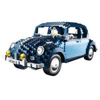 Wholesale Ultimate Models - Lepin Blocks 1707Pcs Technic Classic Series 21014 Ultimate Beetle Set Children Educational Toys Famous Car Model 10187 Kids Gifts Juguetes