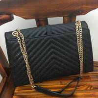 Wholesale New Style Fashion Ladies Handbags - New women fashion chain single shoulder handbag lady black evening bag no126