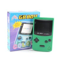 GB Boy Color Color Handheld Game Consoles Game Player con retroiluminación 66 Built-in Games 5 Colors GB Boy Handdled Games con paquete al por menor