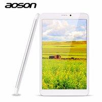 cámara g sensor tableta al por mayor-Al por mayor-Nueva Android 5.1 8 pulgadas llamada 3G Tablet PC Aoson M86TG Phablet MTK8321 1G RAM 8G ROM IPS Pantalla GPS Cámaras duales Quad Core