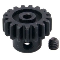Wholesale Rc Car Wl - RC WL A580038 Black Motor Gear 17T With M3*4 Screw For 1:18 WLtoys A949