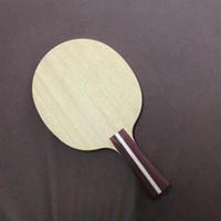 Wholesale paddle bat - Free Shipping 30551 FL Long Handle Table Tennis Blades   Ping Pong Paddle   Bat   Table Tennis Racket Long Handle For Table Tennis Rubber