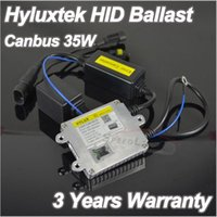 Wholesale Slim Hid Lights - 1PCS 100% Original 3 Years Warranty 12V 35W Hylux Hyluxtek 2A88 Slim Canbus HID Xenon Ballast with Error Light Canceller