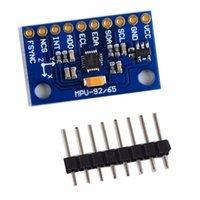 Wholesale Module Communication - Professional MPU-9250 GY-9250 9 Axes Sensor Module Attitude Sensor Module For I2C SPI Communication Blue