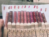 Wholesale Glitz Wholesaler - New kylie vacation Matte liquid lipstck 12 color Glamour birthday suit june bug bare glitz