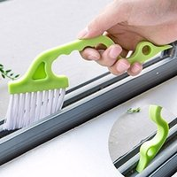 Wholesale Wholesale Sliding Windows - Window Track Cleaning Brushes Shower Door Sliding Door Track Clean Brush