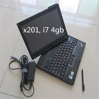 Wholesale Kia Hand Tools - 2017 High Quality Thinkpad X201t Diagnostic laptop second Hand i7&4gb RAM Diagnostic Tool