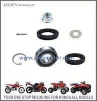 Wholesale STEERING SHAFT KIT Included NSK BEARING Oil seals Nuts Pin cotter and Circlip FOR HONDA TRX450S TRX450ES TRX450FE TRX450FM