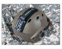 Wholesale Helmet Cold - New Item Tactical LED Helmet Light White Green Led Flashlight Lamp For Hunting Free Shipping CL15-0063