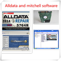 Wholesale Honda Fit Auto - DHL Free shipping Alldata and mitchell software 2017 newest auto repair software all data 10.53 + mitchell on demand fit win7  8