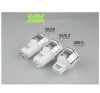 10X MR11 G4 LED Home Spot Deckenleuchte Lampe Birne GU10 3W AC / DC 12V AC85-265V GU5.3 3W High Power RV Marine Boat Energy Saving