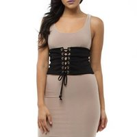 пояс для похудения Tummy Lady Lingerie Women Waist Corset Control Sexy Shapper Lace Up