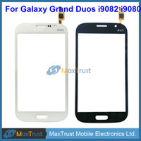 "Wholesale Galaxy Grand Duos Wholesale - Original IC 5.0"" For Samsung Galaxy Grand Duos i9082 i9080 Touch Screen Digitizer Front Panel Sensor Black White Color"