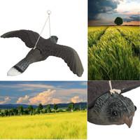 Wholesale Owl Flying - Flying Bird Hawk Owl Decoy Pest Control Repellent Garden Scarer Scarecrow