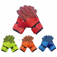 Wholesale white summer gloves for sale - Group buy Glove Professional Soccer Goal Keeper Protection Mittens Football Soft Ball Sports Gloves Fashion Useful Mitts Top Quality Hot Sale hj F