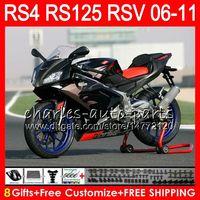 Wholesale aprilia rsv black fairing for sale - Group buy Body For Aprilia RS4 RSV125 RS125 RS125R RS HM1 Golden black RSV RS Fairing