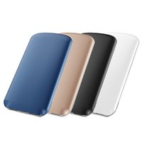 Wholesale External Charge Iphone Bank - JOYROOM 8000 mAh Power Bank Dua USB Portable Powerbanks Charger External Battery Fast Charging Powerbank for iphone samsung Table PC