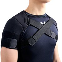 Nylon sports shoulder brace - Kuangmi Removable Shoulder Support Belt Flexible Back Belt Correct Rectify Posture Adjustable Wrap Bnadage Sports Shoulder Brace