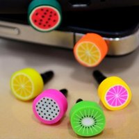 Wholesale Cell Phone Charms For Iphone - Charms Anti Dust Plug Stopper 3.5mm Dirt Proof plug for iPhone 7 6 6s plus 5s s7 note5 note4 s6 Cell Phone Dus products DHL free USZ041