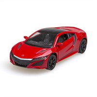 Wholesale Kinsmart Acura NSX Sport Car alloy Metal Racing Vehicle Diecast Metal Pull Back Car Sport Cars Toy For Gift Collection