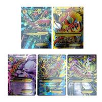 Wholesale Pokemon Gift Set - Hot ! New Poke 60 Cards Set 35pcs EX MEGA & 25pcs GX Cards No Repeat Gift For Kids