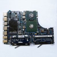 Wholesale apple laptop motherboards online - Laptop Motherboard For Apple Macbook A1181 GHz T7400 P N A MB062 MB063 Year
