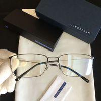 Wholesale titanium frame men eyeglasses - LINDBERG STRIP EYEGLASSES FRAMES IN POLISHED SILVER TITANIUM New with Box