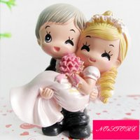 Wholesale Couple Gift Cake - Cake Topper Classic Couple   Funny & Reluctant Resin Wedding   Bridal Shower Garden Theme   Classic Theme Gift Box
