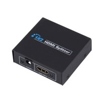 HDCP HDMI Splitter Full HD 1080p Video Switch Switch 1X2 Split 1 in 2 Out Amplificatore Display Doppio per HDTV DVD PS3 Xbox