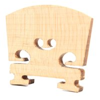 Wholesale Violin Bridges Fiddle Maple Wood Size Instrument Accessories Violin Strings Bridge Part Tools Perfect Shape
