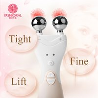 Wholesale Device Eye Dark Circles - EMS Face Lifting Tool Firming Facial Skin Electrical High Frequency Ion Introduction Rejuvenation Home Skin Care Massager Beauty Device