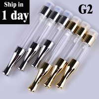 Wholesale refillable atomizers - bud atomizer refillable G2 cartridge Ce3 disposable vaporizer 510 o pen ce3 thick oil vape cartomizer e cig atomizer AT159