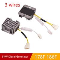 Wholesale voltage stabilizer regulator for sale - 12V AVR WIRE OLD FOR F F DIESEL FREE POSTAGE KW GENERATOR AUTOMATIC VOLTAGE REGULATOR PUMPER CHARGING ADJUSTER STABILIZER