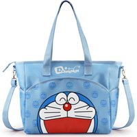 Wholesale Kawaii Baby Diapers - Wholesale-Hot Kawaii Cartoon baby diaper bag maternity bag Multifunctional large capacity tote bag Nappy bags Mummy handbag Bag006