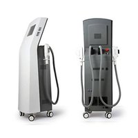 Wholesale Medical Treatment Equipment - Professional vertical 2 handpieces IPL SHR hair removal machine photon depilation skin rejuvenation beauty equipment CE