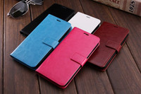 Wholesale S4 Retro Case - For SAMSUNG S4 S5 S6 S6EDGE S7EDGE S8 Vintage Retro Flip Stand Wallet Leather Case With Card Frame Phone Cover