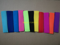 Wholesale 50pcs DHL Fedex Fast Shipping x4cm Popsicle Holders Pop Ice Sleeves Freezer Pop Holders colors