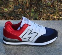 Wholesale Nb Red - 2017 admission men and women 574 NB balance casual sports shoes lovers shoes running shoes size 36-44