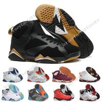 Cheap New Retro 7 VII olimpico Tinker Alternate retros 7s mens Basquete sapatos Sapatos de couro High Boots Sports sneakers atacado 41-47
