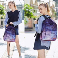 Wholesale School Bags Wheel - New starry sky Cloud 40CM Printing Girls Lady gift Bags Children School Bag Backpack Boys School bag Rucksack C094