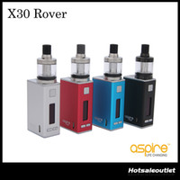 Wholesale rover kits - Authentic Aspire X30 Rover Kit with 2.0 ML Nautilus X Tank & 30W 2000 mAH Built-in LiPo Battery NX30 Mod 100% Original