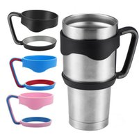 Wholesale Portable Plastic Hand handle Holder Mugs Portable Hand Holder For YETI Rambler Tumbler oz oz Cups Rambler Handle and yeti cup lid