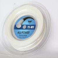 Wholesale luxilon big banger tennis strings resale online - KELIST Big Banger Alu Power Tennis String L White Color same high quality as Luxilon String
