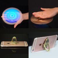 Wholesale Iphone Case Hand Holder - Fidget Spinners Spinner Ring Stand Holder Metal hand Spinner Holder for phone case Smartphone iPhone 7 Plus 8 Galaxy S8 S8+